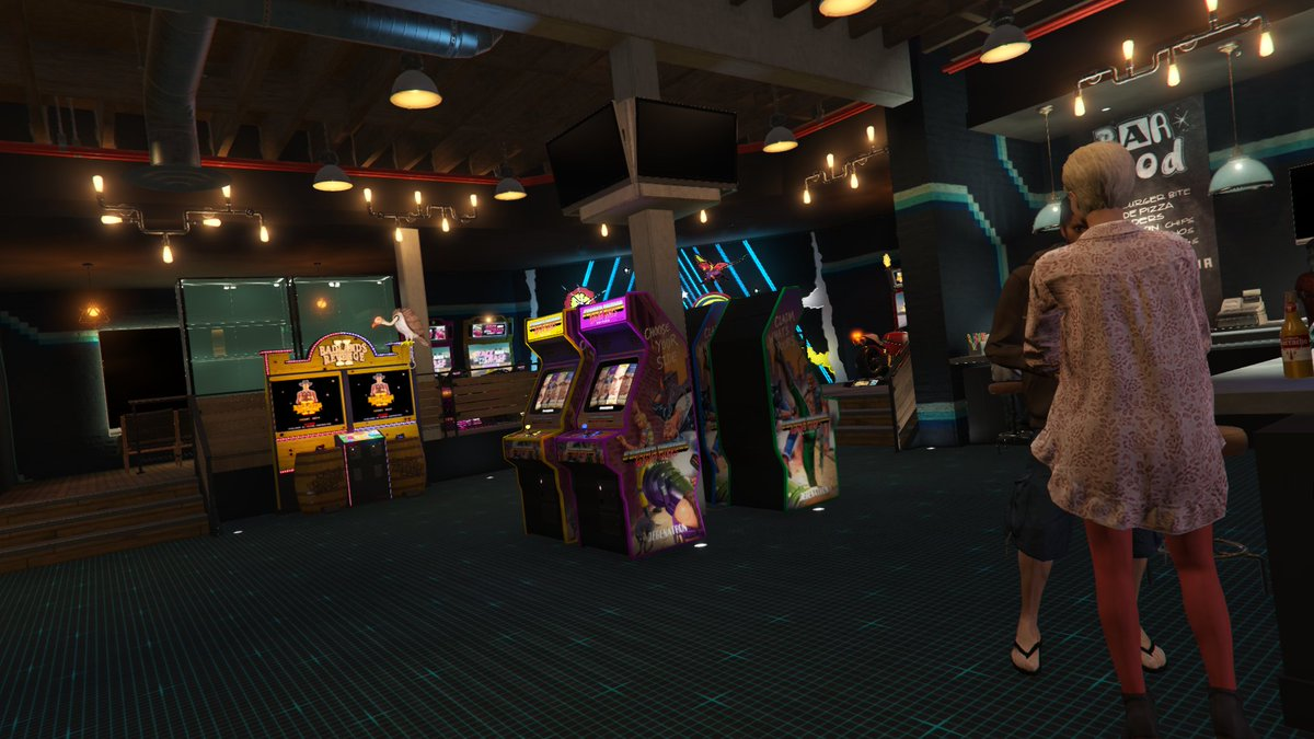 Videotech On Twitter The Arcade Business In Gta Online Has Much Little Details Bravo To The Interior Design Team This Is Pretty Impressive Stuff Not To Mention The Warm Lighting Is On