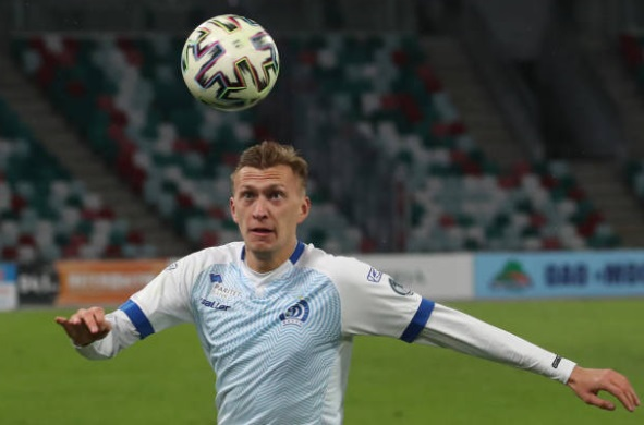 We have a Belarusian boilover as battlers Minsk take down strong favourites Zhodino in Vysshaya Liga action  Din. Minsk (Klimovich 21' Bakhar 43') Zhodino  https://www.flashscore.com.au/football/belarus/vysshaya-liga/ … #Belarus #Footballpic.twitter.com/ytOduz5dvR