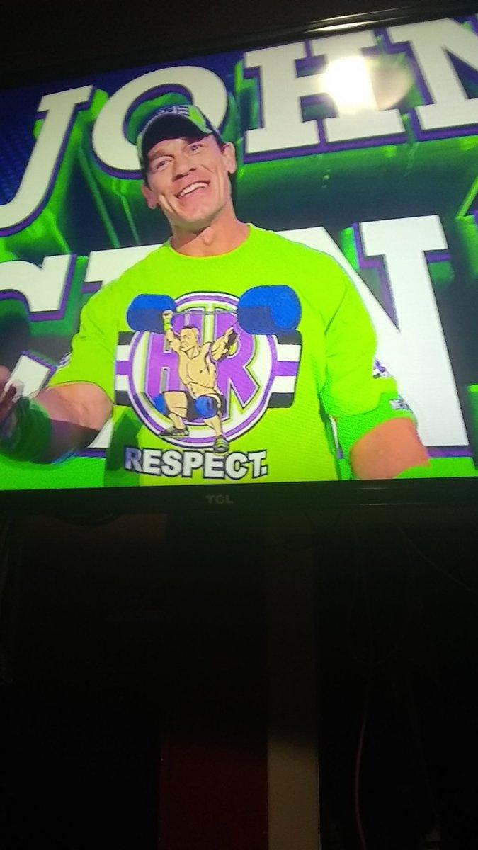 #Smackdownu OMG my favorite Wrestler from WWE SmackDown Live @JohnCena https://t.co/Gk8Nq7wCoi