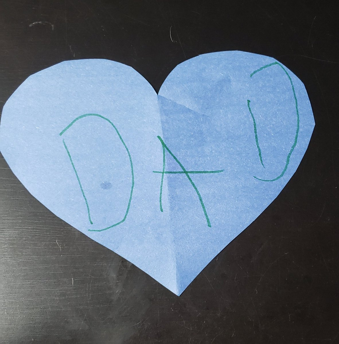 I've been self-isolating from my kids because I'm still working outside the house. My son left me this on the stairs. He's such a sweet boy. <br>http://pic.twitter.com/GbU4UFj3uI