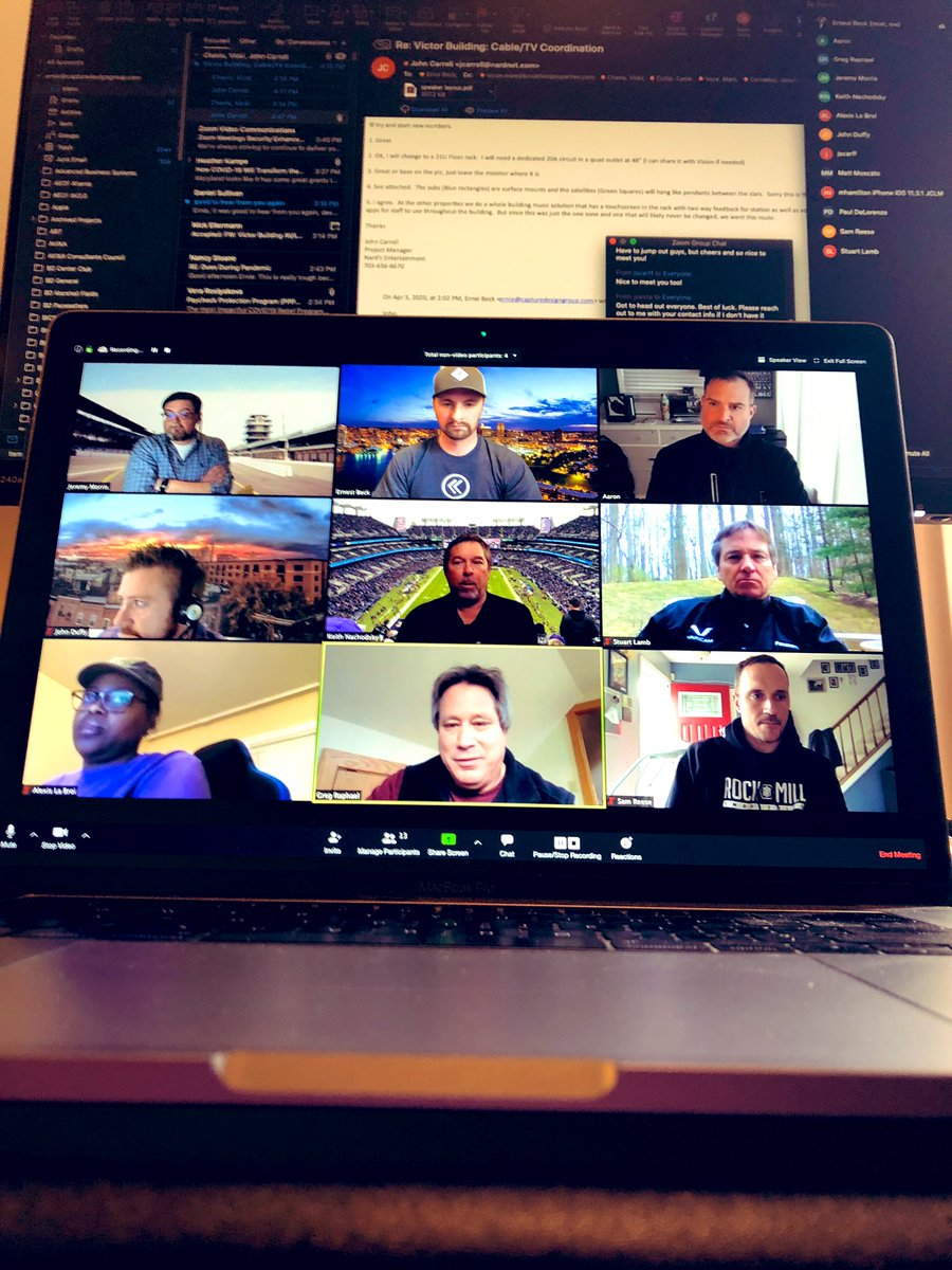 I think we topped out at 15 #AVtweeps on @IntegrateBmore's first virtual HH but def quality over quantity. Def needed a dose of positivity from our AV community! Thx to all that joined pic.twitter.com/nORYxsUNuU