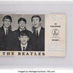 Image for the Tweet beginning: John Lennon. @PaulMcCartney. George Harrison.