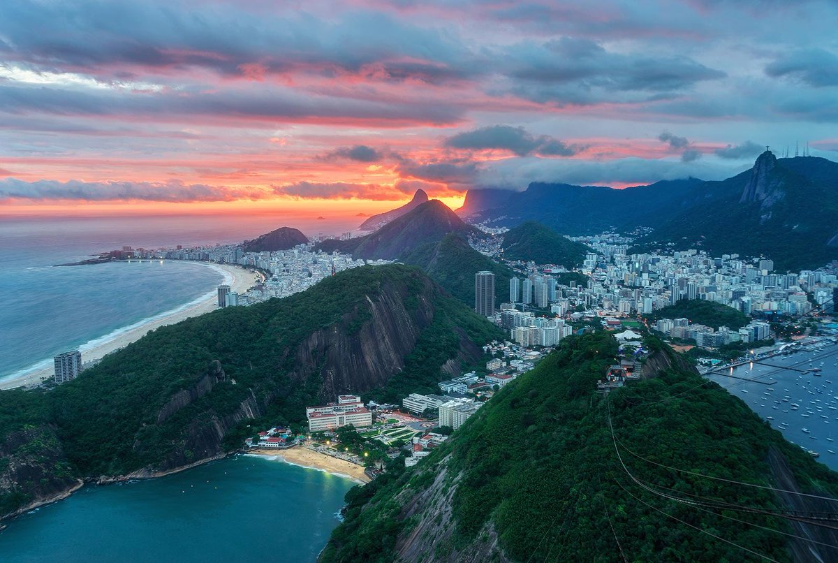 Rio de Janeiro, #Brazil. My Mum's home city, my second home, the place lots of my family live and where my memories of my grandmother always will be. Also struggling from #COVID19. Proudly British and Brazilian. Abraço.   pic.twitter.com/1wwNqojvDO