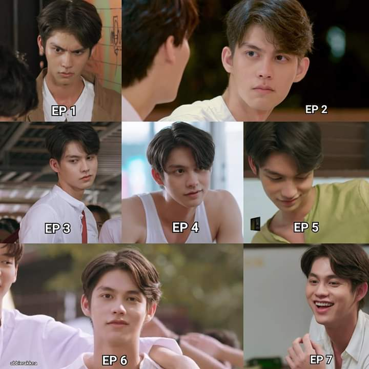 Evolution of Sarawat's facial expression  #คั่นกูEP7<br>http://pic.twitter.com/Gz6gkqHgGx