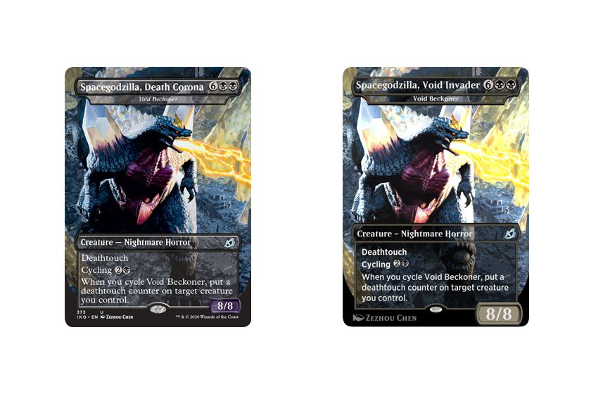 Godzilla's monsters are coming to Magic: The Gathering