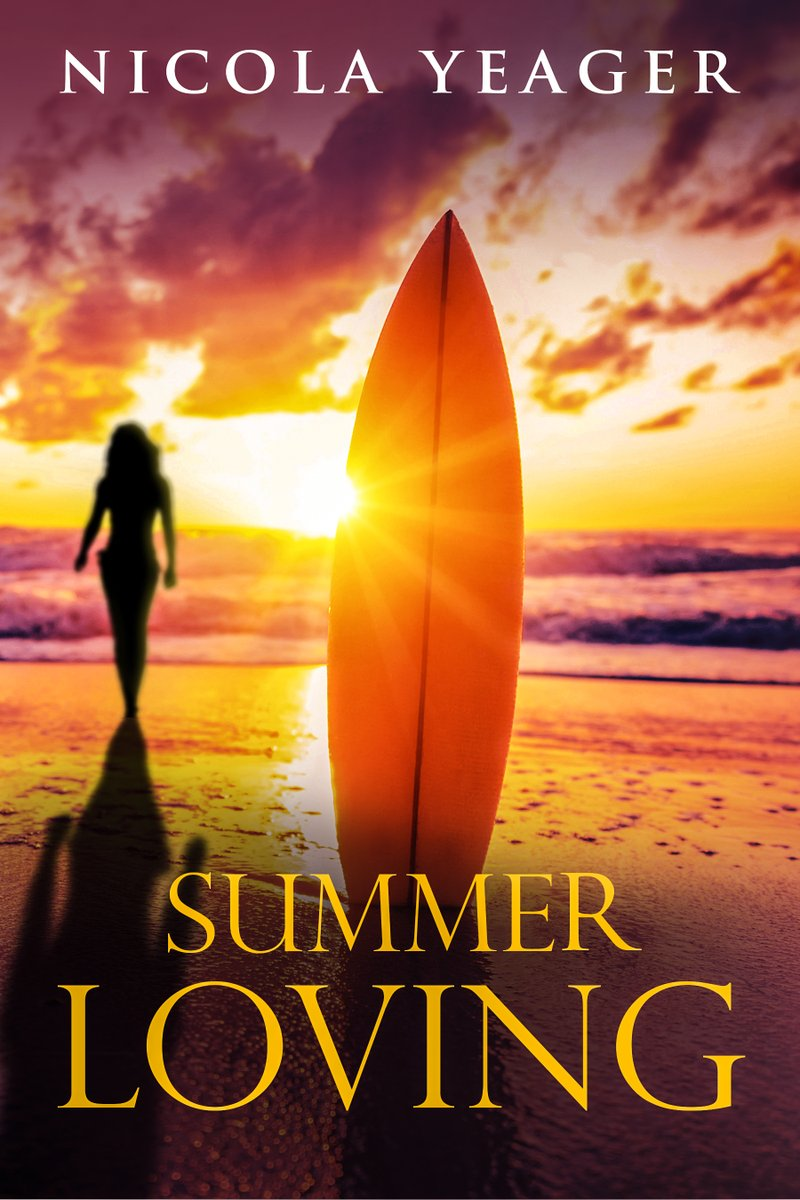 Summer Loving by Nicola Yeager. 'A charming romance story, easy to read and evoking the fun of summer love.' - Jupiter Grant.  #Sun #Sand #Sea #Surf #Summer #Surfing #Romance #RomCom
