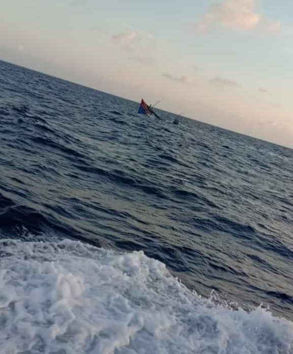 More pictures taken by #Vietnamese fishermen on the ground of the incident where a #Chinese coast guard ship rammed & sunk a #Vietnamese fishing boat   Source: a journalist from Tuoi Tre Online - Via @SCS_news