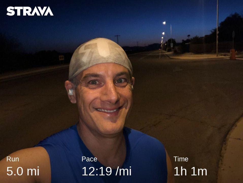 Ragnar SoCal in AZ; Leg 2 of 3. Great twilight run. Night time hours are now in effect. #RagnarSoCal #teamnuun #hshive #runhappy #fitnessjourney #fitnessmotivation #instarunner #azrunner #ragnarrelay<br>http://pic.twitter.com/dwjo8hn3oi