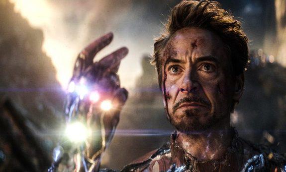 "\""...and I, am, Iron Man.  Happy birthday to Robert Downey Jr."