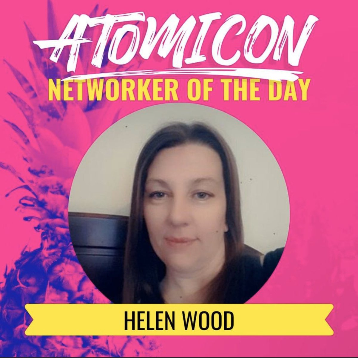 It was a hard decision but @samanthaJHill1 chose @helenrosepics as networker of the day!   Congratulations Helen!!   #ATOMICON20pic.twitter.com/Zl1BPLXpEr