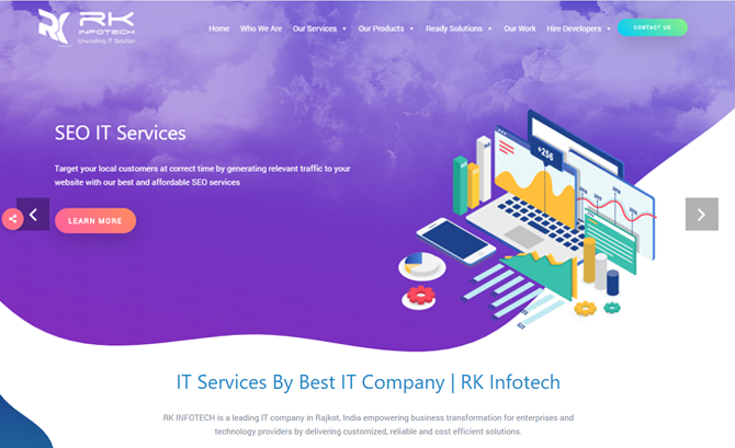 Guru of the Day April 04 2019 RK Infotech By @RKInfotech1 from India    #IT #services #solutions #Mobile #app #design #development #product #software #websitedesign #ERP #softwaredesign #App #Bootstrap #CMS #CSSFramework #Html5 #Jquery #Seo #WebFonts #Blue