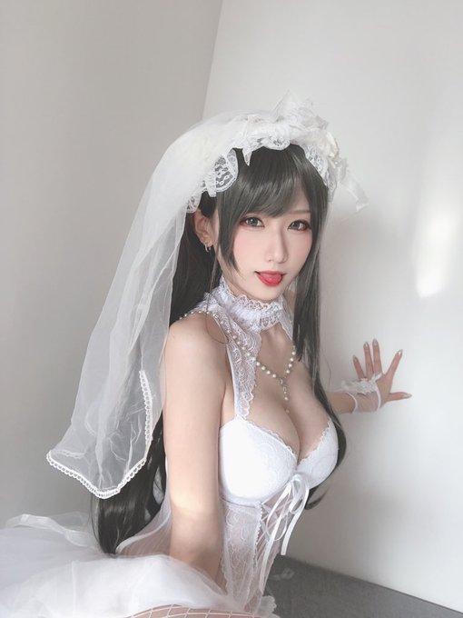 コスプレイヤー莉酱LusiaのTwitter自撮りエロ画像10