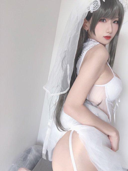 コスプレイヤー莉酱LusiaのTwitter自撮りエロ画像9