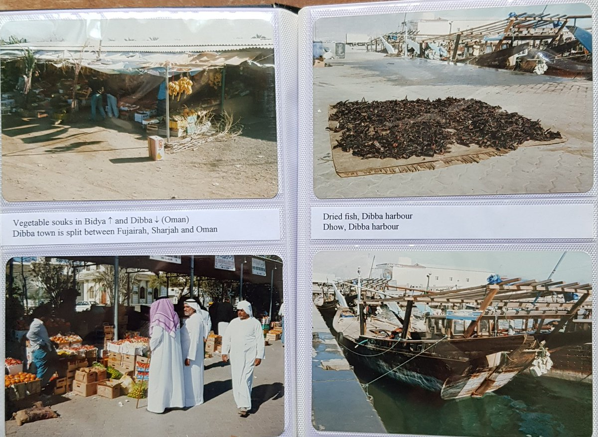 1990. Dibba. Split into three parts: Emirate of Fujairah, Emirate of Ras Al Khaimah and Sultanate of Oman.. pic.twitter.com/c1X1A7aQfq
