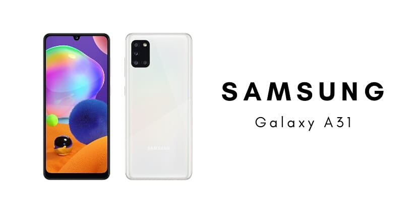 Samsung Galaxy A31 Specs :  6.4-inch FHD+ display, octa core processor, 4GB RAM, 48MP quad camera (48MP + 8MP + 5MP + 5MP), 20MP Selfie camera, 64GB internal storage, 5000mAh battery and Google's latest Android OS.  @SamsungMobile #Samsung #GalaxyA31 https://bit.ly/2wi43SEpic.twitter.com/QUE6eaRV2T