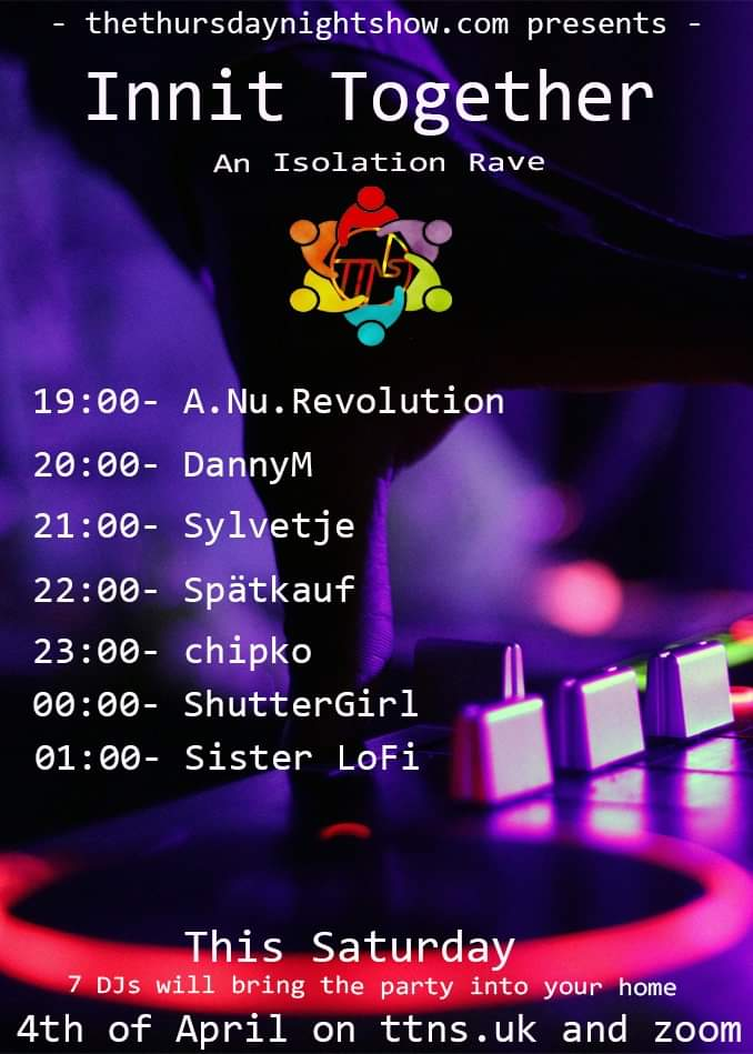 Tonight , looking forward to see you all there x no dress code , just be yourself and enjoy the music ! x #isolationparty #onlineradio #music #deephouse #house #techhouse  #DJspic.twitter.com/8Id1MwsXhx