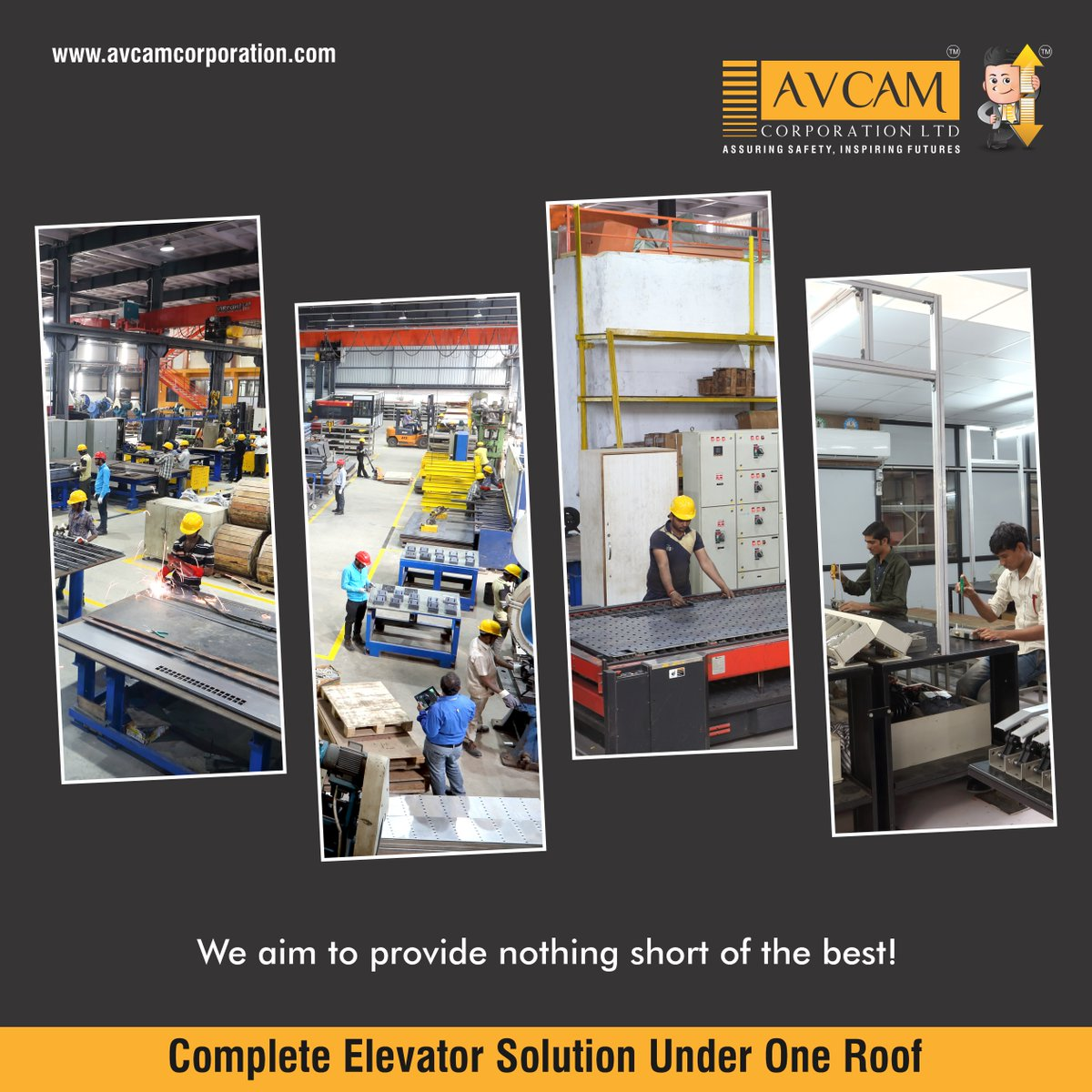 We aim to provide nothing short of the best! . . #AVCAM #StrongFuture #NextGeneration #Products #Consistency #Quality #Safety #SmartWork #GearedMachine #HighQualityProduct #SpareParts #AVCamCorporationLTD #Security #AutomaticDoors  . . Visit us: http://www.avcamcorporation.com pic.twitter.com/W6lP4PidcA