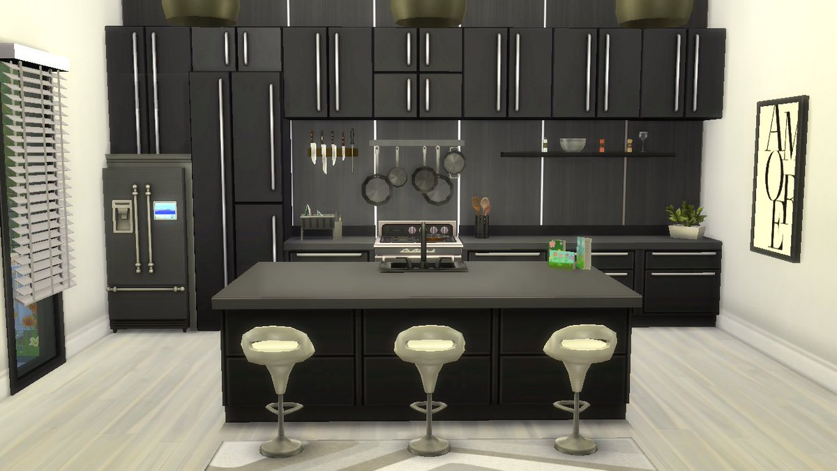 #thesims4 #contemporary Kitchen no cc build! pic.twitter.com/zY7CYxx7uV