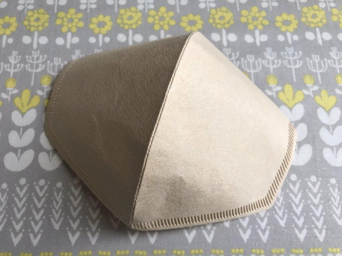 フィルター マスク コーヒー 型紙