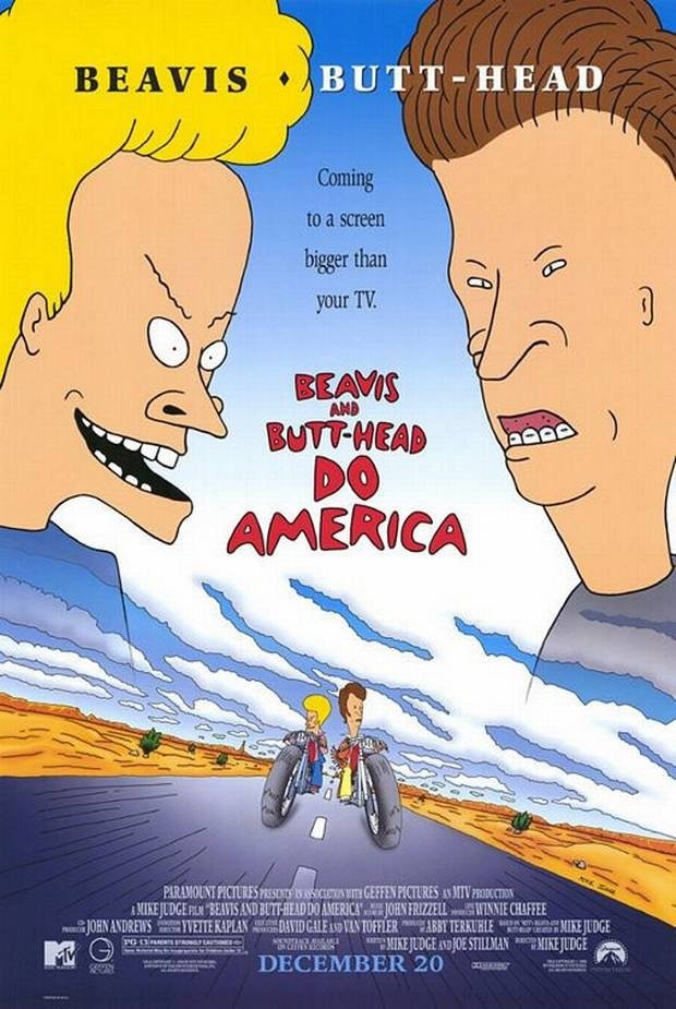 Spooky Daniel Dell On Twitter Three Massively Popular Adult Cartoon Franchises Have Their Own Theatrically Released Movies For A Reason Beavis And Butt Head Do America South Park Bigger Longer And Uncut And