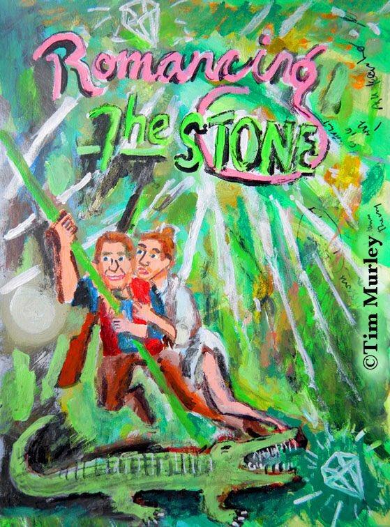 Romancing the stone. (One of my all time favs!)#childrensbooks #art #lockdown #antman #movieposter #classicmovies #disneyplus #michaeldouglas #basicinstinct #wallstreet #80smovies  #romancingthestone #alligator #socialdistancing #Netflix #80s #movie #Romancepic.twitter.com/G1e9TFSGYo
