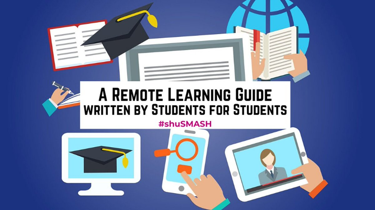 A 2nd blog post written by my students for students. This time a remote learning guide that includes tips on motivation, learning, peer support and suggestions for some downtime. Please share with any students you know. socialmediaforlearning.com/2020/03/31/gue… #shuSMASH #LTHEchat #highered #altc