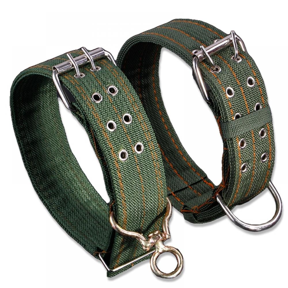 #animal #cute Cute Solid Army Green Canvas Dog's Collar