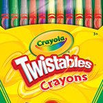 Image for the Tweet beginning: CrayolaTwistables Crayons, Pack of 12