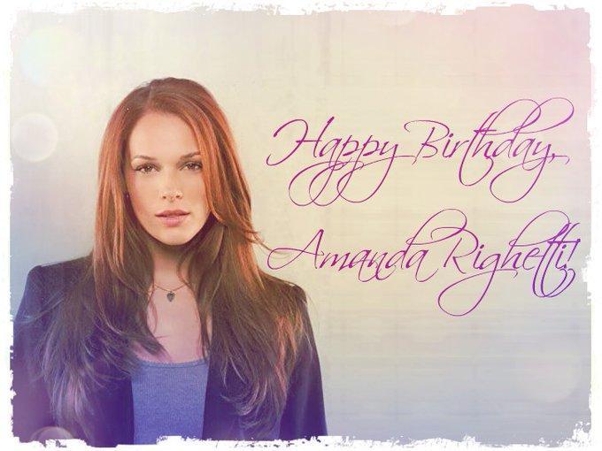 Happy Birthday, Amanda Righetti!          !