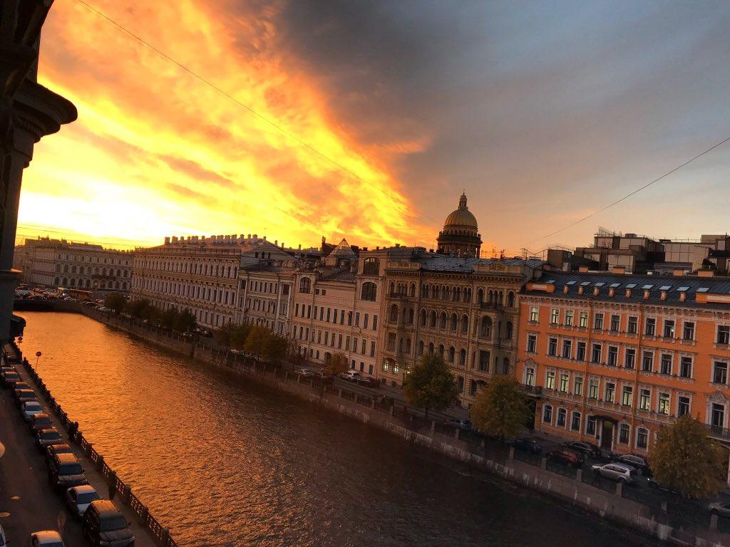 Sunset in St. Petersburg. View from our office window. https://youtu.be/potj3-nKlCw #stayhome #Stpetersburg #saintpetersburg #russia #петербург #россия #санктпетербург #питер #beautiful #BeautyOfTheDay #beauty #spring #spring2020 #eventprofs #dreamnowvisitlater #TravelTomorrowpic.twitter.com/PI5pSflK3C