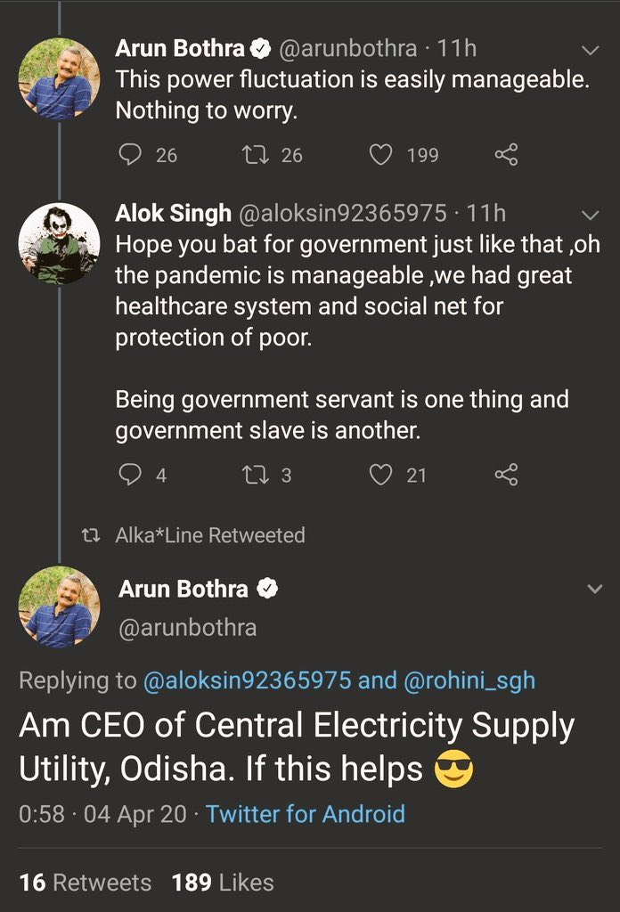 Ignorant journalists who go by whatsapp forwards. The fluctuation is a non-issue. Internal arrangements do not mean a huge issue. twitter.com/RKRadhakrishn/…