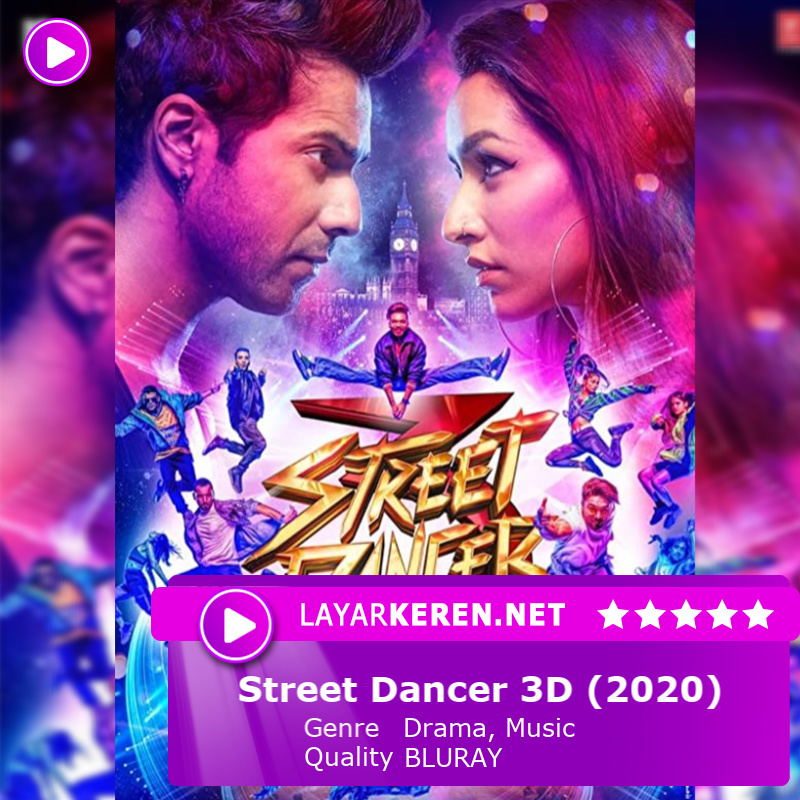 Street Dancer 3D (2020)  #Layarkeren #ShraddhaKapoor #VarunDhawan #Varshra #VarunShraddha #ShraddhaVarun #ShraVarun #VarunShra #Varun #Dhawan #Shraddha #Kapoor #Bollywood #Love #HighRatedGabru #ABCD2 #StreetDancer3D #CoolieNo1 #MrLele #Baaghi3pic.twitter.com/8IpKMTtzrr