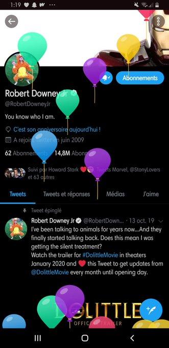 Happy Birthday Robert Downey jr !