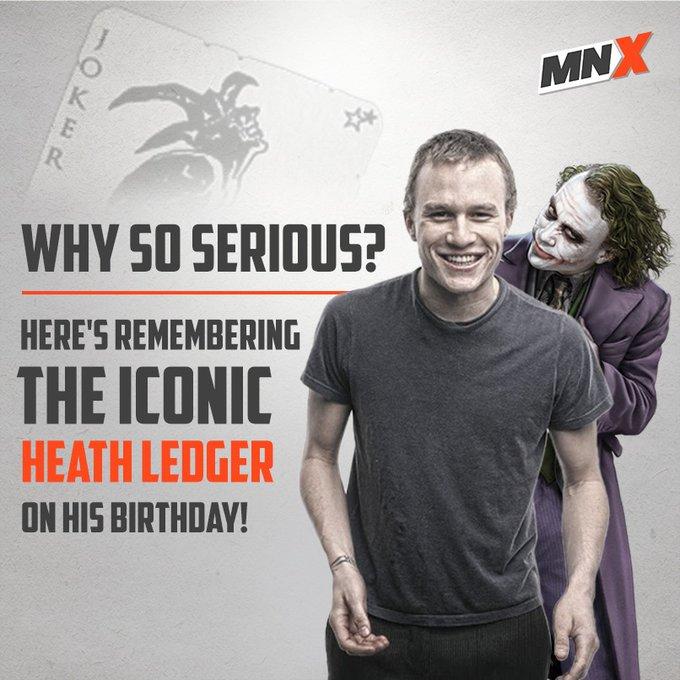 Happy Birthday SuperVillain  Heath Ledger