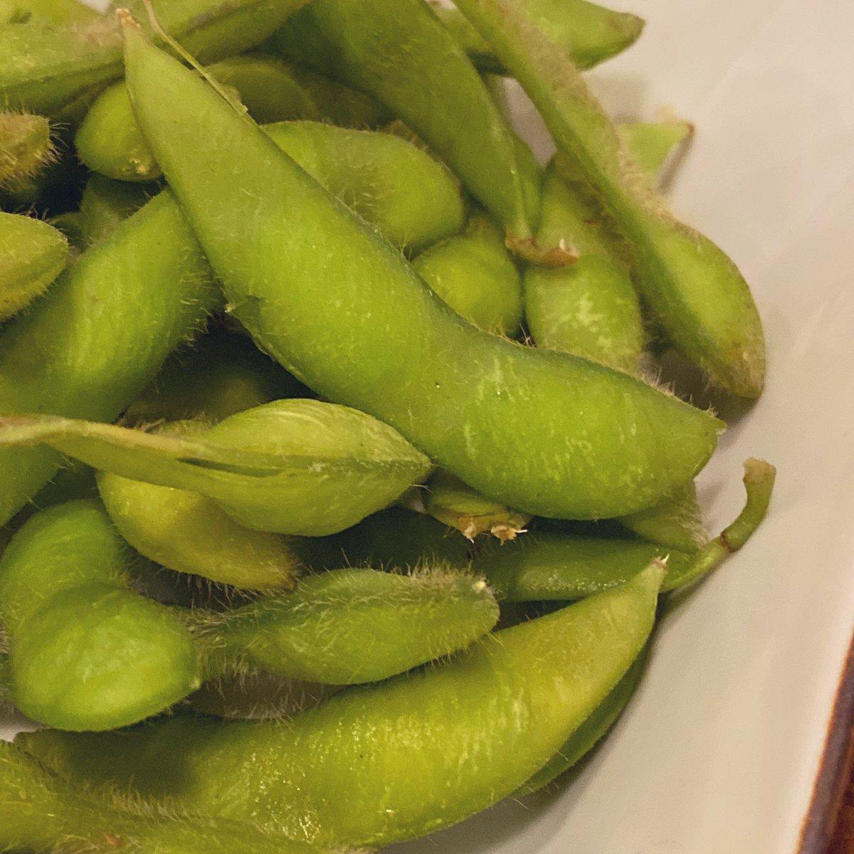 枝豆!('▽'*)✨  #おそとごはん #eatout #restaurant #delicious #yummy #food #foodie #foodpics #foodgram #instafood