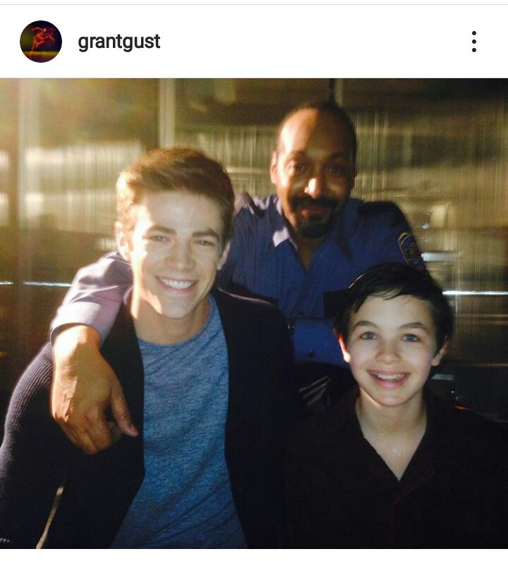 Grant Gustin via Instagram . RIP Logan Williams  #TheFlash pic.twitter.com/rh9BH700wV