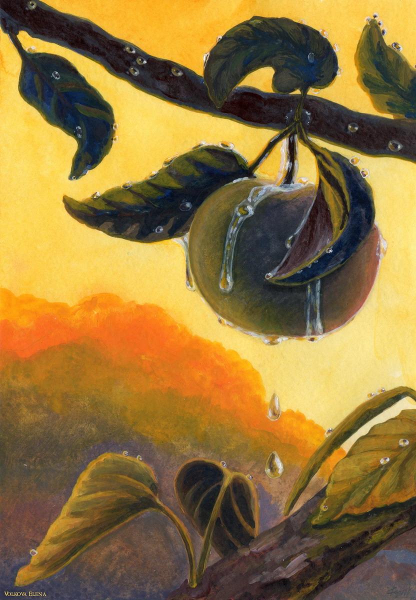 The Life (2020)  #art #symbolism #traditional #traditionalart  #expressionism #surrealism #realism #acrylic #acrylicpainting #painting #contemporaryart #TheLife #life #apple #sunset #sunrise #dew #rain #drop #clouds #жизнь #яблоко #закат #рассвет #роса #дождь #облакаpic.twitter.com/ytpWse2ICB