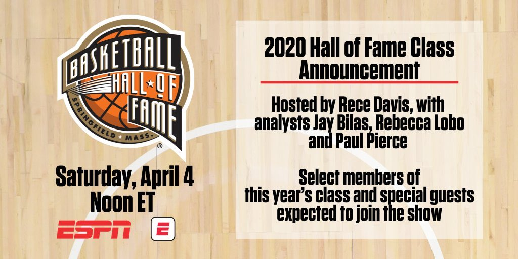 Tune into ESPN at 12 PM/ET today for our big #20HoopClass announcement! 🏀🏆