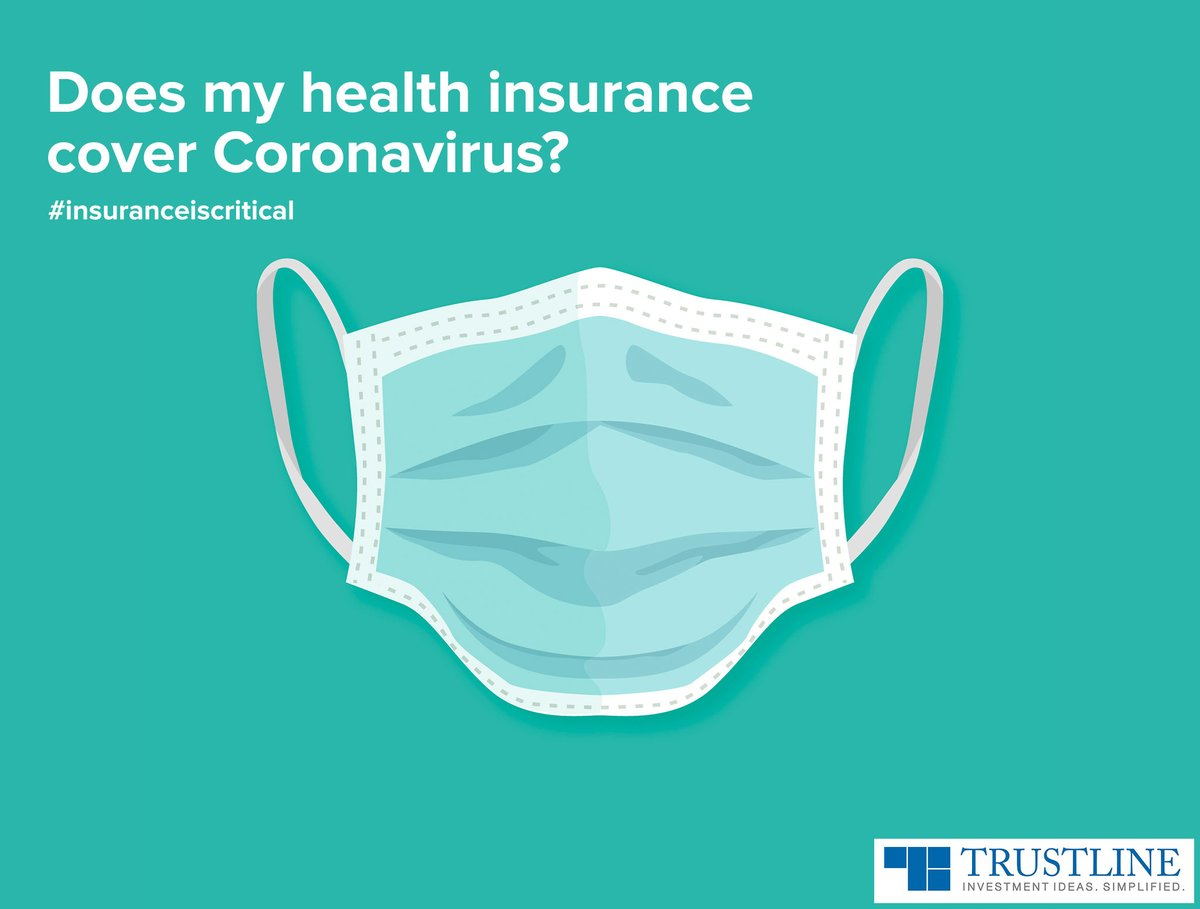 If you are hospitalized for a minimum of 24 hours for treatment of COVID, all the standard health insurance policies will cover the medical expenses. #insuranceiscritical https://www.trustline.in/insurance