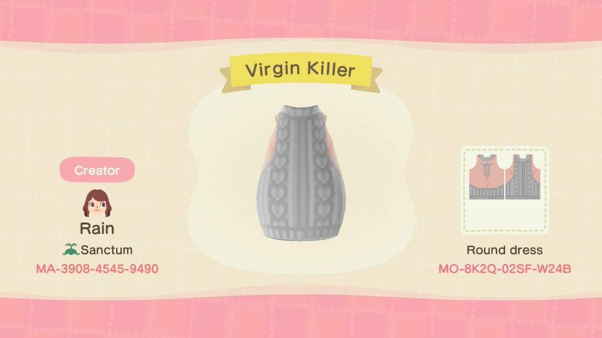 Rain On Twitter Virgin Killer Sweater Anyone Acnh Acnhpatterns Animalcrossingnewhorizions