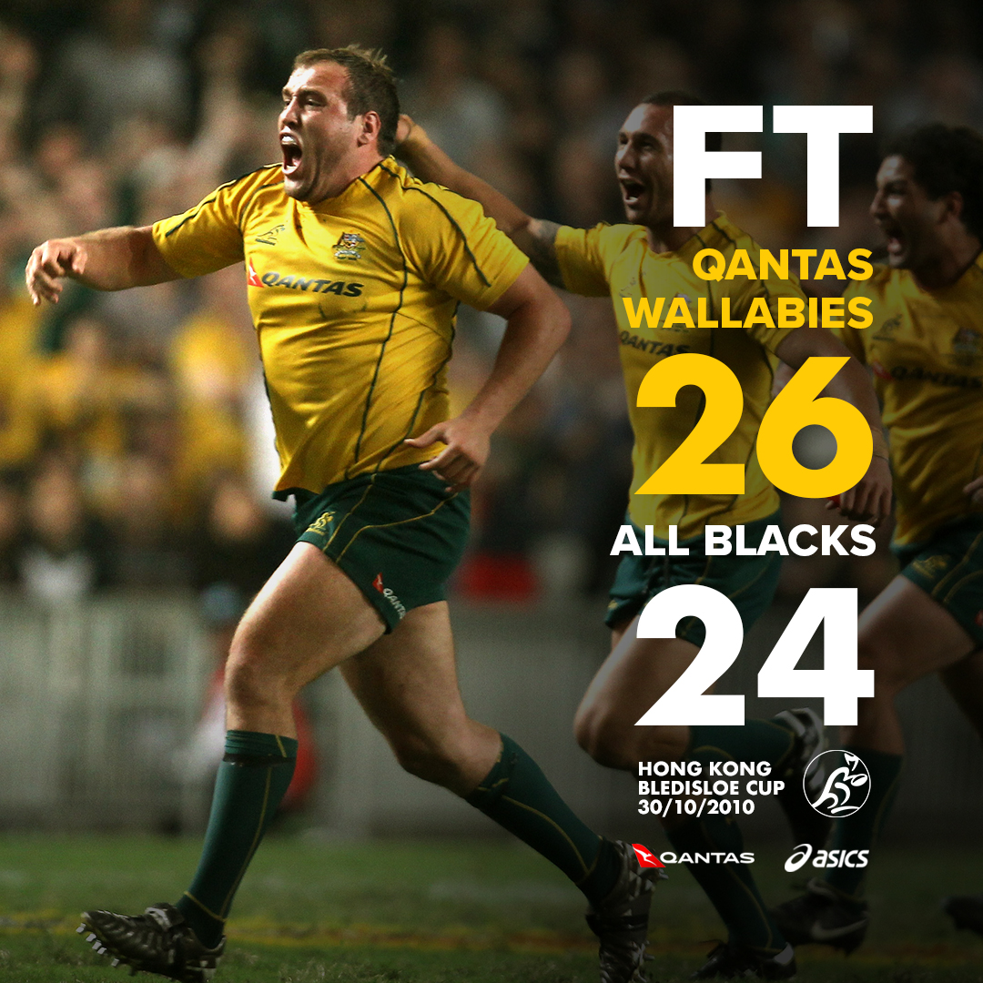 Wallabies On Twitter What A Finish It Was Qantas Wallabies Seal The Deal With A Kick After The Siren From James O Connor As Part Of Rugbycomau S Classic Matches Ausvnzl Bledisloecup Goldblooded