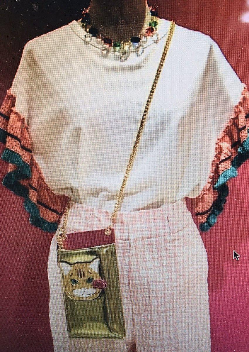 BEAMS WHOMEN HARAJYUKU 店さんに新作guriguri紹介頂きました!ありがとうございます このコーデとても素敵です! 可愛い  #guriguri #raybeams #beams  #beamswomen_harajyuku  #cat  #新作 #accessory #bag #ポシェット #猫 #20ss #tokyo #japanpic.twitter.com/FKL5blAuMB
