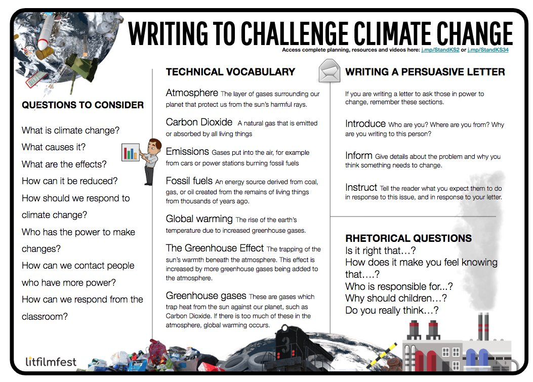 Litfilmfest Writing Made Real Sur Twitter Get This Free Word Bank Poster For Ks2 On Climate Change Also With Formal Persuasive Letter Writing Comprehension And Other Resources Full Quality D L