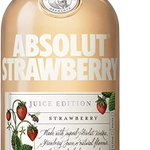 Image for the Tweet beginning: Absolut Strawberry, 50 cl -