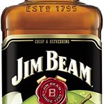 Image for the Tweet beginning: Jim Beam Apple Bourbon Whiskey