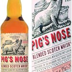 Image for the Tweet beginning: Pig's Nose Blended Scotch Whisky