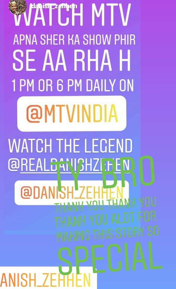 Thank you so much  Mentioning in your story it's means alot Thank you so much #fambruharmy #danishzehenpic.twitter.com/om1zyIhfzc