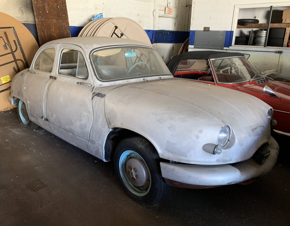 1954 Panhard Dyna Z1. Yes, the body is all aluminum.