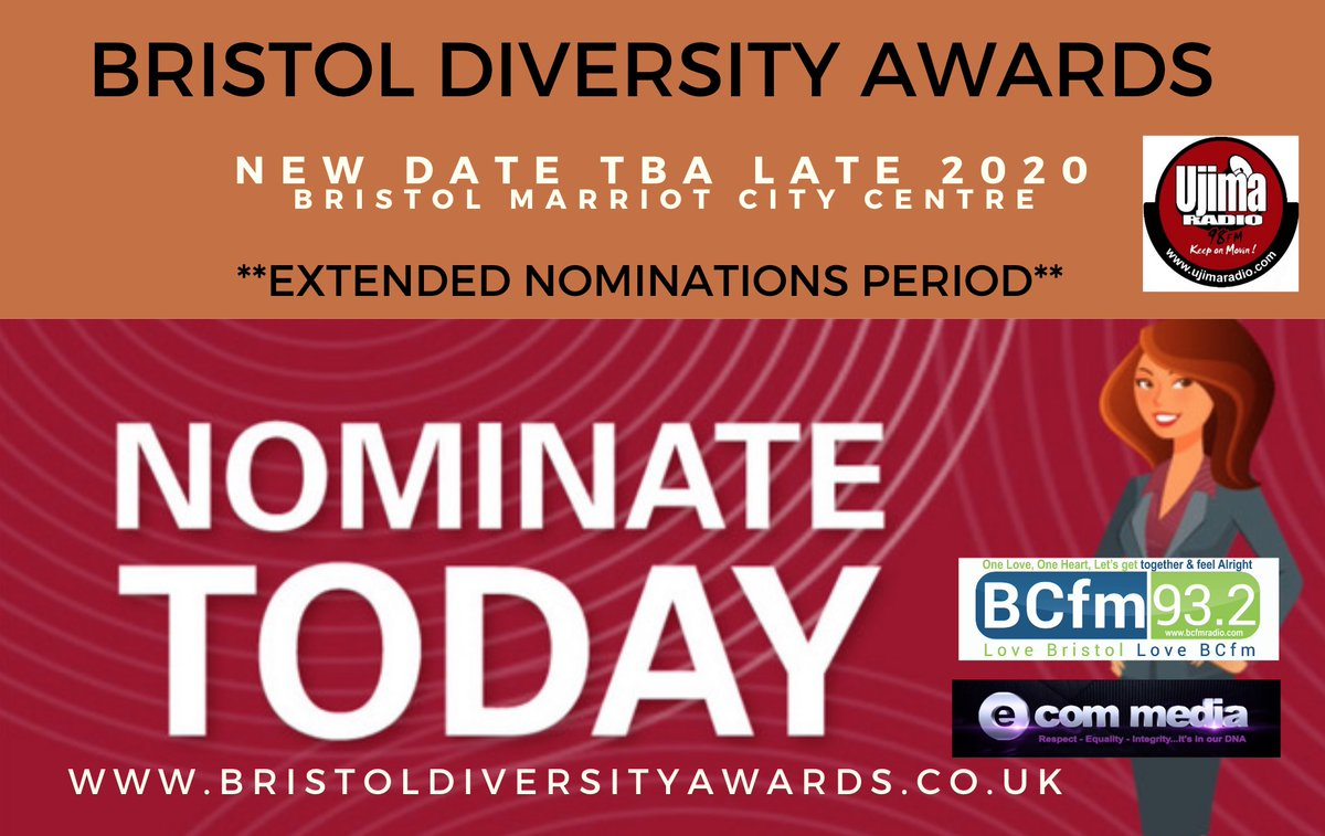 Just to confirm the BDA's 2020 WILL take place this year! Our May 30th date is no longer practical BUT you have more time to nominate Let's look forward to sharing a #beautiful ceremony after the summer  #StaySafeStayHomepic.twitter.com/uoxcpO5K4z