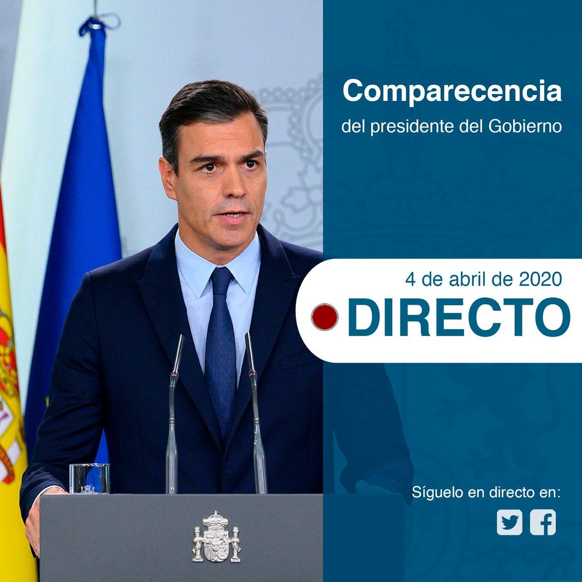 La Moncloa. El presidente del Gobierno, @sanchezcas...: abre ventana nueva
